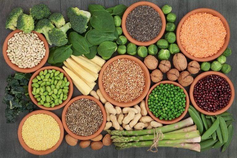 Alimentos ricos en proteínas para personas veganas