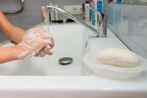 Cómo aprovechar los restos de jabón de manos