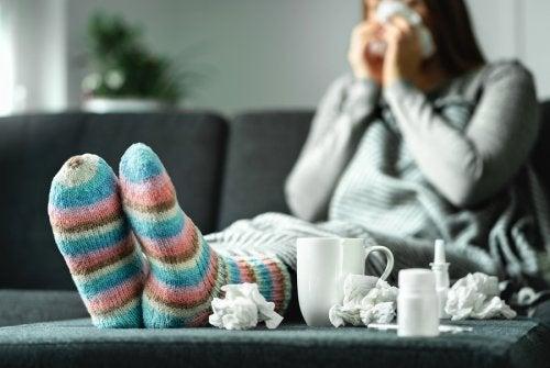 Cómo debe ser tu alimentación cuando tienes gripe