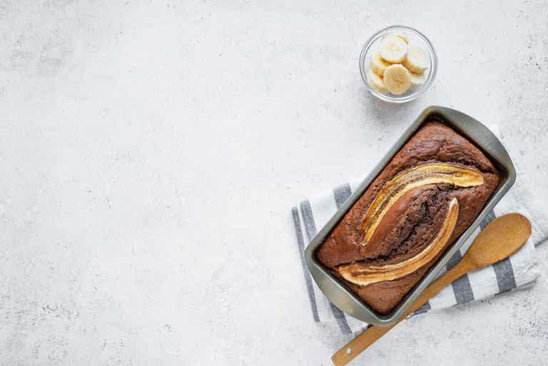 Cómo hacer pan de banana: 3 recetas que te gustarán