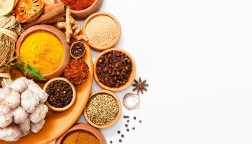 6 especias para bajar de peso y reemplazar la sal