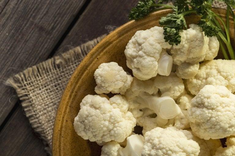 5 maneras de preparar batido de coliflor