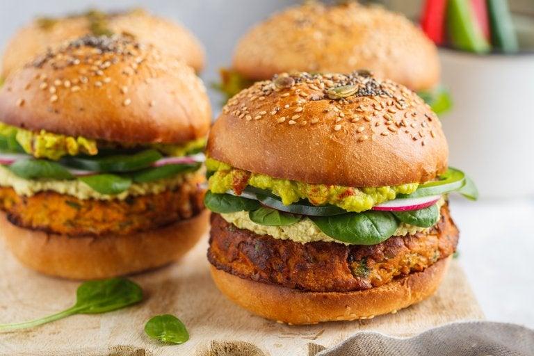 2 maneras de preparar hamburguesas vegetarianas
