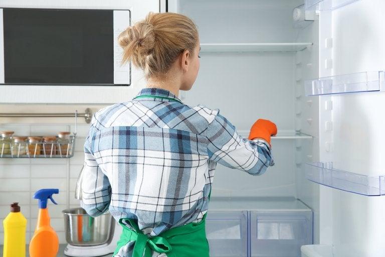"""Métodos """"eco"""" para limpiar y desinfectar el refrigerador"""
