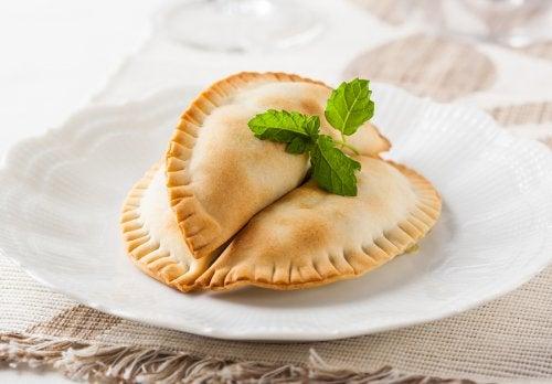 Cómo hacer empanadas veganas: 2 recetas
