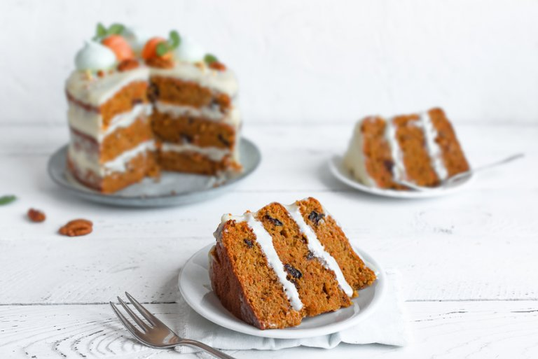 2 formas fáciles de hacer tarta de zanahoria