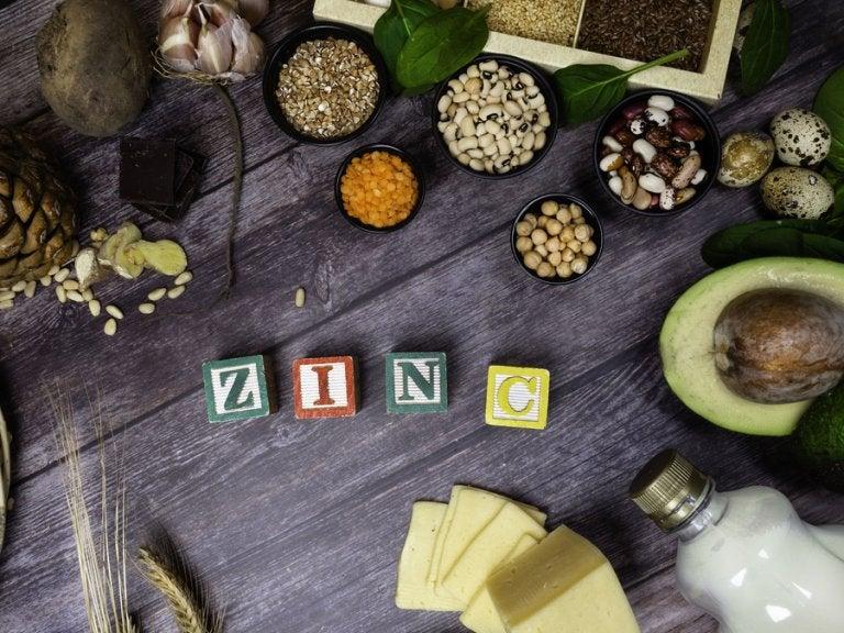 ¿Por qué es necesario aumentar el zinc en la dieta?