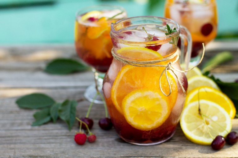 5 cócteles de fruta sin alcohol que te gustará probar