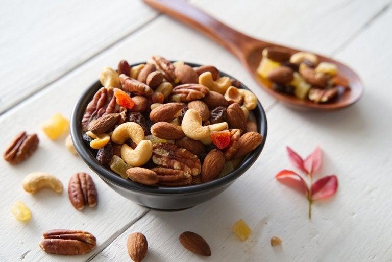 6 variedades de frutos secos que aumentan tu energía