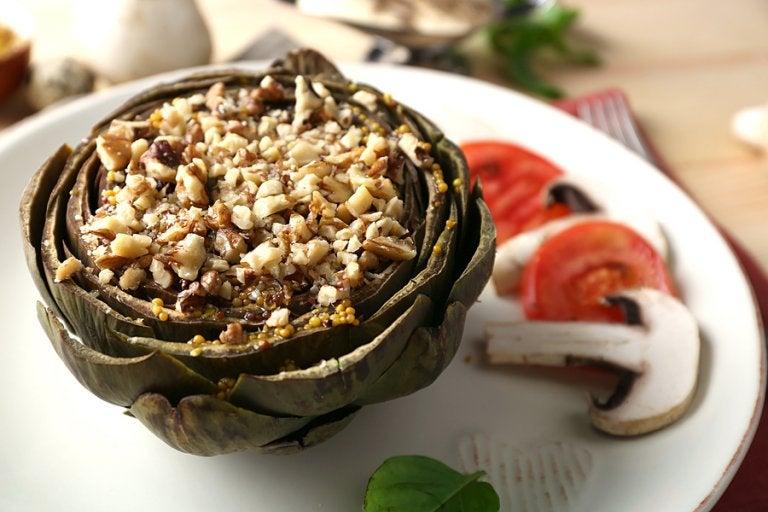 Alcachofas rellenas de arroz: 3 formas de prepararlas