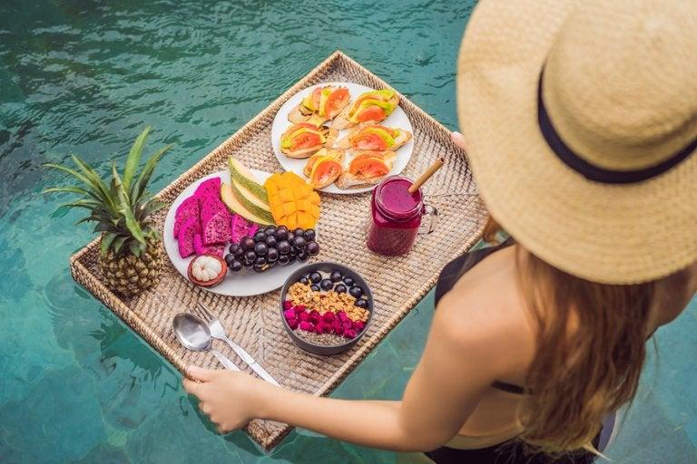 ¿Qué comer en verano para no engordar?