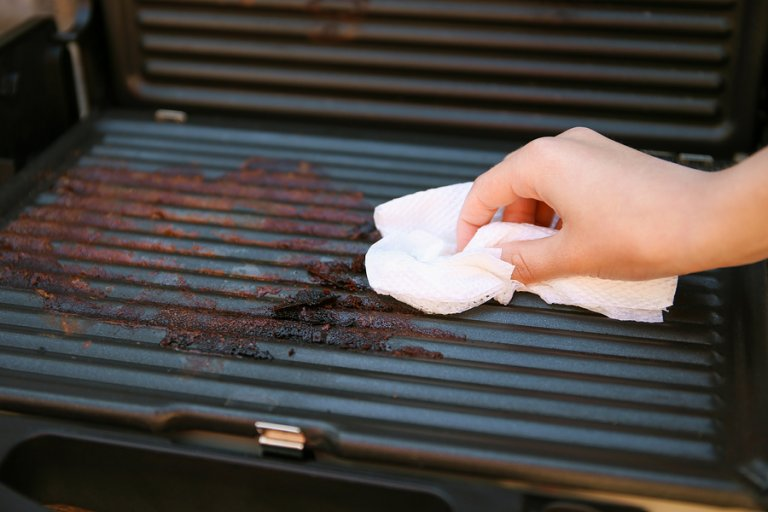 5 pasos para limpiar una barbacoa
