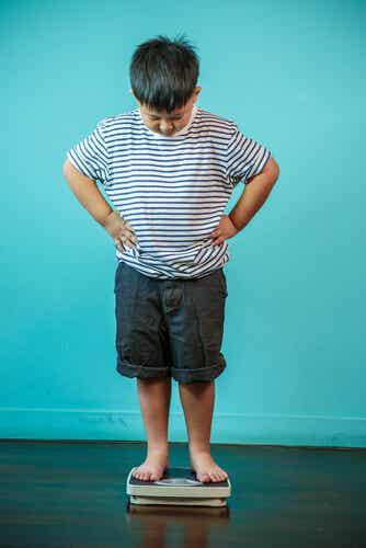 El exceso de peso en los niños