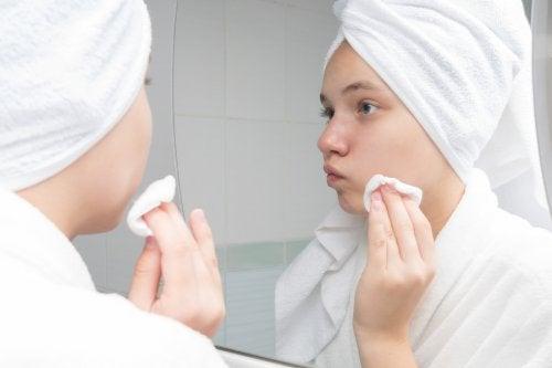 Eridosis para el acné: precauciones