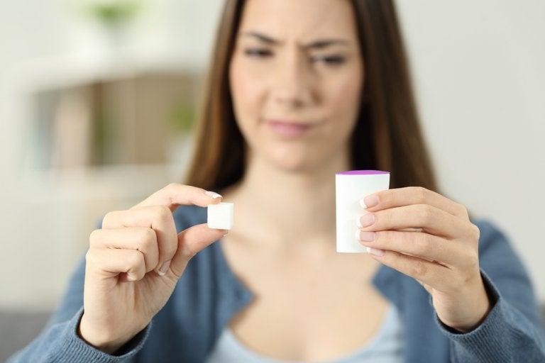 ¿Cuáles son los efectos de la sucralosa en el organismo?