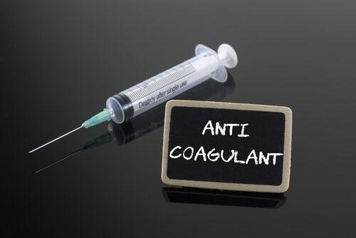 Recomendaciones para personas con tratamiento anticoagulante